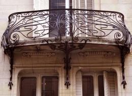 Кованые французские балконы Воронеж №43