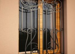 Кованые решетки на окна Воронеж №11