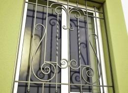 Кованые решетки на окна Воронеж №13