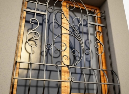 Кованые решетки на окна Воронеж №14