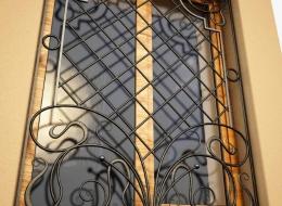 Кованые решетки на окна Воронеж №15