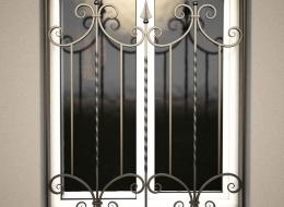 Кованые решетки на окна Воронеж №17