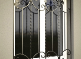 Кованые решетки на окна Воронеж №18