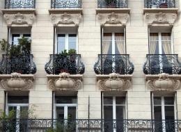 Кованые французские балконы Воронеж №1