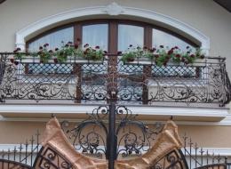 Кованые французские балконы Воронеж №49