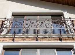 Кованые балконы Воронеж №136