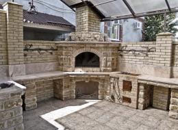 Кованые каминные наборы, дровницы, решетки №70