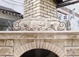 Кованые каминные наборы, дровницы, решетки №71
