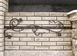 Кованые каминные наборы, дровницы, решетки №76