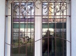 Кованые решетки на окна Воронеж №33