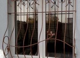 Кованые решетки на окна Воронеж №34