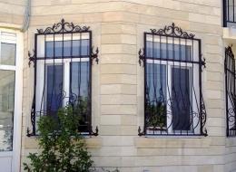 Кованые решетки на окна Воронеж №35
