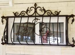 Кованые решетки на окна Воронеж №40