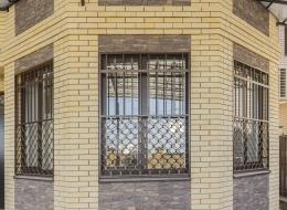 Кованые решетки на окна Воронеж №42