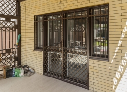 Кованые решетки на окна Воронеж №43