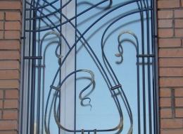 Кованые решетки на окна Воронеж №26