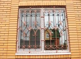 Кованые решетки на окна Воронеж №25