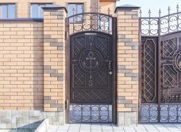 Кованые ворота Воронеж №201