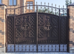 Кованые ворота Воронеж №200
