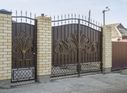 Кованые ворота Воронеж №202