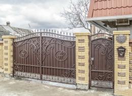 Кованые ворота Воронеж №203