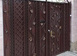 Кованые ворота Воронеж №204
