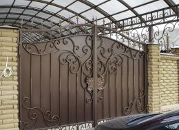 Кованые ворота Воронеж №207