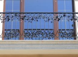 Кованые французские балконы Воронеж №45