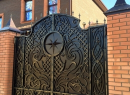 Кованые ворота Воронеж №197
