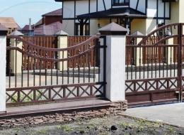 Кованые ворота Воронеж №59