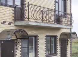 Кованые балконы Воронеж №140