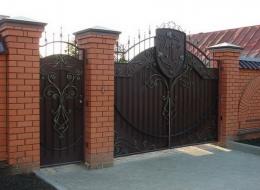 Кованые ворота Воронеж №214