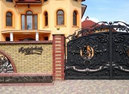 Кованые ворота Воронеж №216