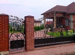 Кованые ворота Воронеж №213