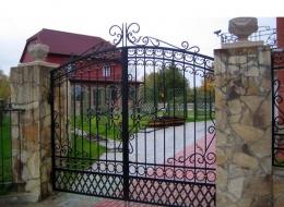 Кованые ворота Воронеж №210