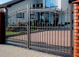 Кованые ворота Воронеж №211