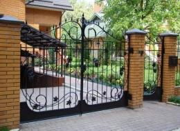 Кованые ворота Воронеж №208