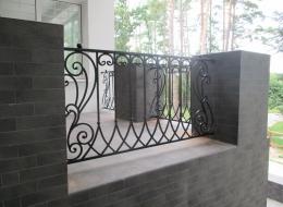Кованые балконы Воронеж №58