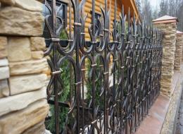 Кованые ворота Воронеж №18
