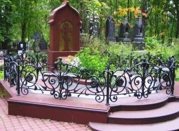 Кованые ритуальные изделия Воронеж №53