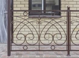 Кованые балконы Воронеж №146