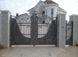 Кованые ворота Воронеж №139