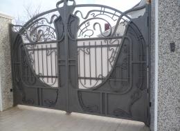 Кованые ворота Воронеж №140