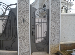Кованые ворота Воронеж №141