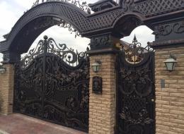 Кованые ворота Воронеж №51