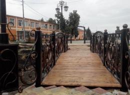 Фото кованый мост Воронеж