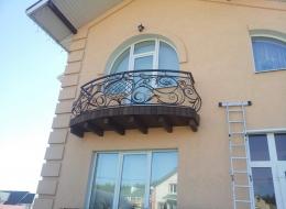 Фото кованый балкон Воронеж