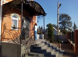 Фото кованые перила Воронеж