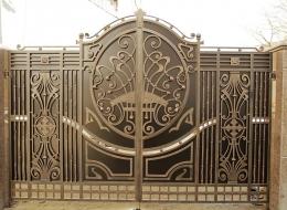 Кованые ворота Воронеж №14