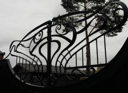 Кованые ворота Воронеж №144